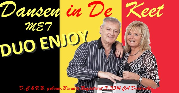 Dansen in de keet met Duo Enjoj