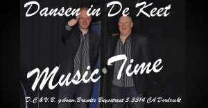Omslag Dansen in De Keet Music Time (Facebook)